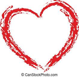 szív, -design, elem
