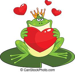 szív, herceg, béka