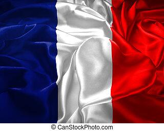 szív, lobogó, franciaország