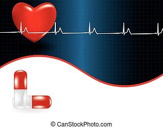 szív, orvosi fogalom, probléma