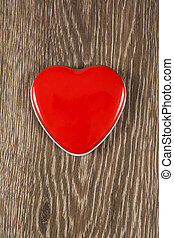 szív, piros