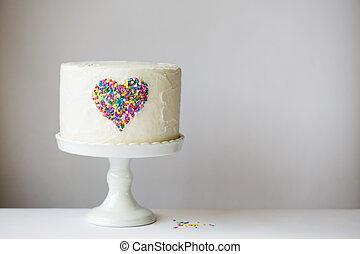 szív, torta