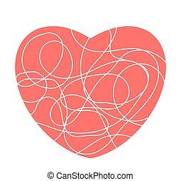 szív, vagy, elszigetelt, kedves, mózesi, háttér, jel, fehér, esemény, piros, ikon