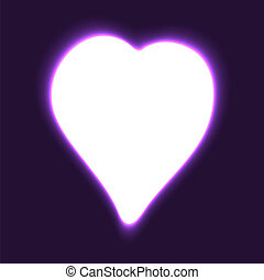 szív, vektor, Nap, háttér,  valentine's