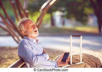 szívpanaszok, szív, fogalom, férfiak, liget, támad, öregedő, letartóztat, szigorú, egészség, szív, idősebb ember