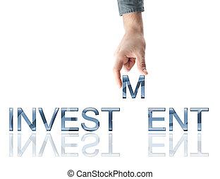 szó, befektetés