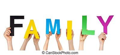 szó, birtok, család, kézbesít
