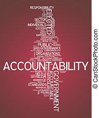 """szó, felhő, """"accountability"""""""