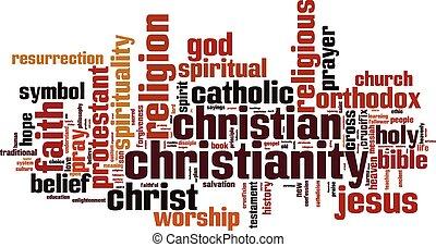 szó, felhő, kereszténység