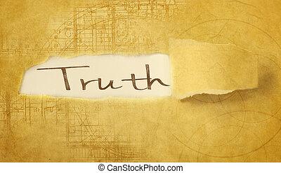 szó, igazság