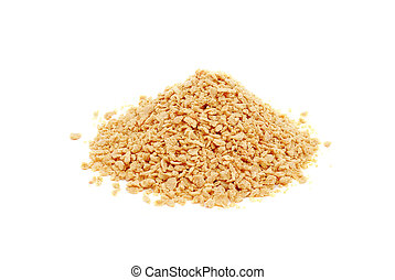 szójabab, granules