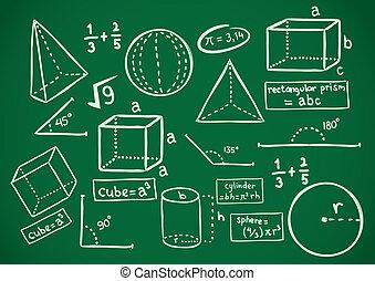 szórakozottan firkálgat, matek