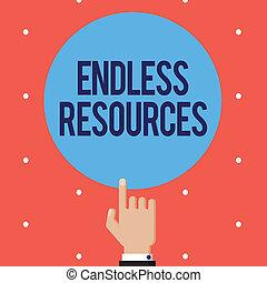 szöveg, aláír, kiállítás, vég nélküli, resources., fogalmi,...