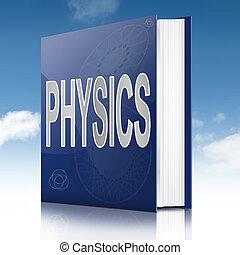 szöveg, fizika, book.
