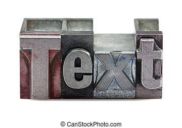 szöveg, másológép
