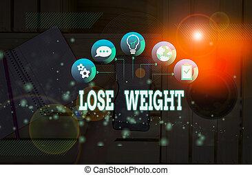 szöveg, tény, illő, súly, bemutat, kézírás, weight., késik, vagy, jelentés, fogalom, less., dél, test, állat