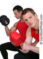 szükség, lenni, ön, box., egészséges