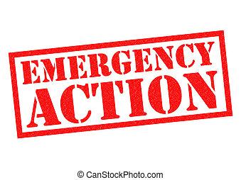 szükséghelyzet, akció