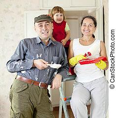 szülők, gyermekek, rendbehozás, otthon