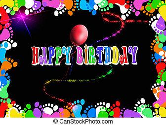 születésnap, balloon