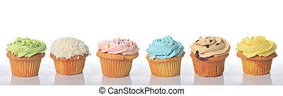 születésnap, cupcakes