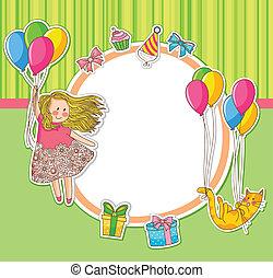 születésnap, doodles