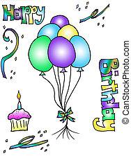 születésnap, nyiradék rajzóra