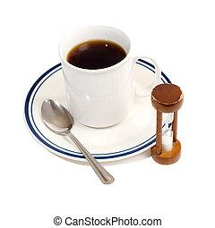 szünet, kávécserje