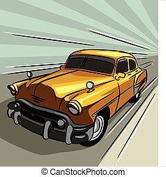 szüret autó