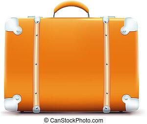 szüret, bőrönd