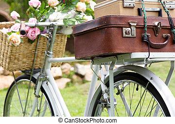 szüret, bicikli