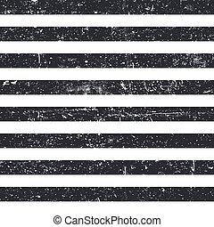 szüret, elvont, pattern., csíkoz, seamless, fekete, retro, háttér, textured, megvonalaz