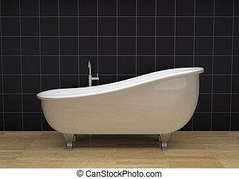 szüret, fürdőkád
