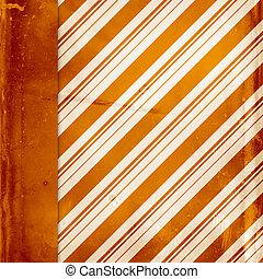 szüret, háttér, narancs, csíkos határ, lejtő, bal