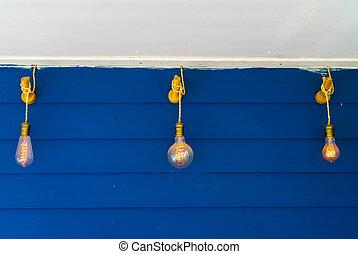 szüret, lakberendezési tárgyak, világítás