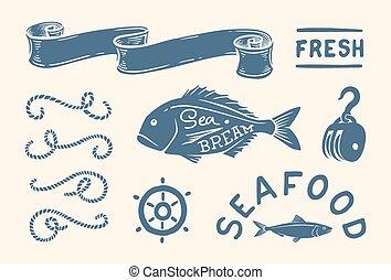 szüret, tengeri, állhatatos