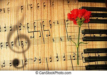 szüret, zene, fogalom