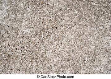 szürke, grunge, fal, magas, beton, háttér, textured, durva,...