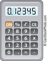 szürke, számológép