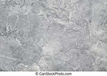 szürke, textute, márvány, felszín, háttér.