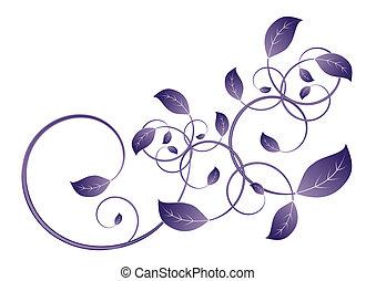 szőlőtőke lap