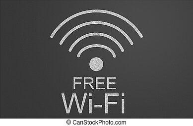 szabad, wifi, aláír