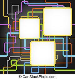 szablon, kolor, tekst, abstrakcyjny, kwestia, tło