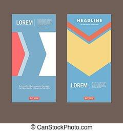 szablon, nowoczesny, wektor, projektować, lotnik, broszura