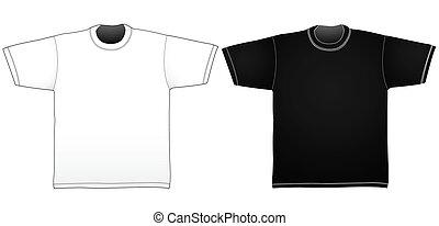 szablony, t-shirt