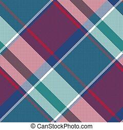szach modelują, abstrakcyjny, pled, asymetryczny, seamless