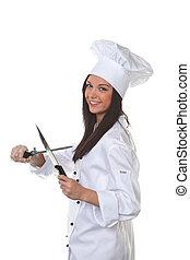 szakács, kés