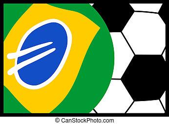 szalag, brazília