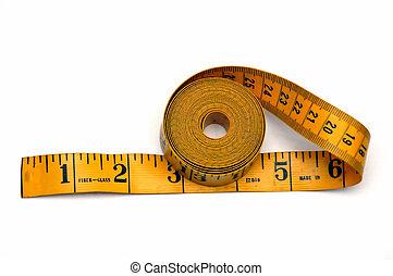 szalag, measuting