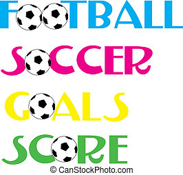 szalagcímek, futball foci